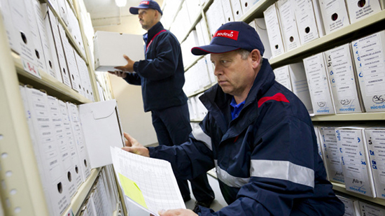 Sodexo employees take care of document management